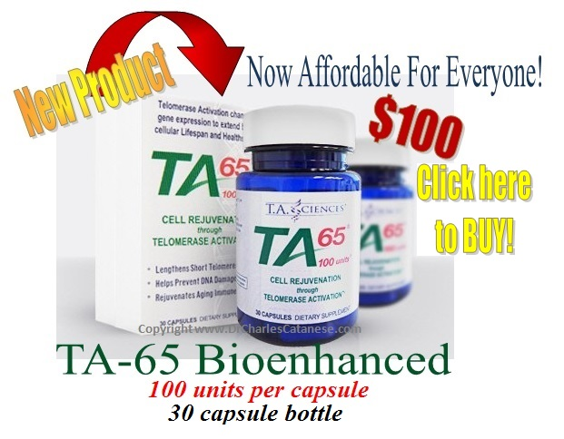 Now affordable TA65md at 100mg.