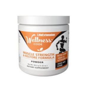 wellness Code Muscle Strength And restore Formula