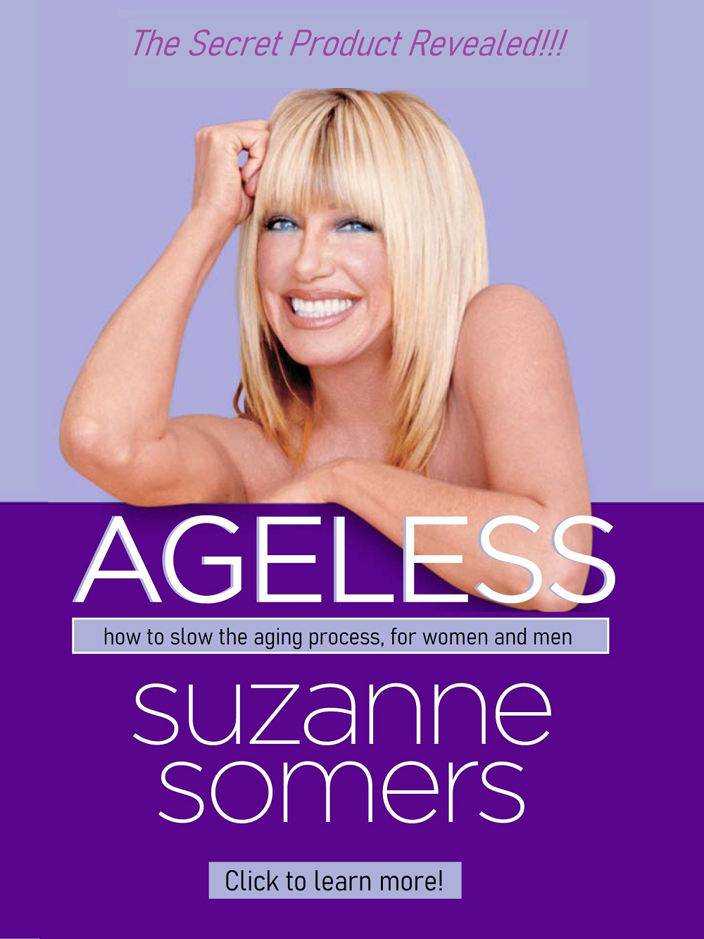 Suzanne Somers talk about TA65
