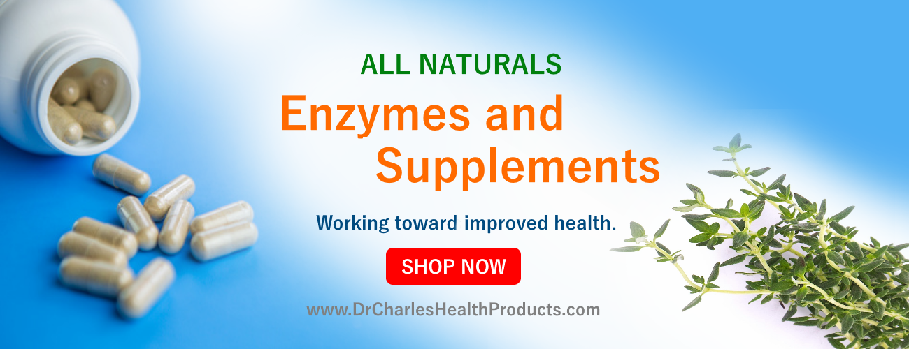 dr charles health products enzymes and supplements