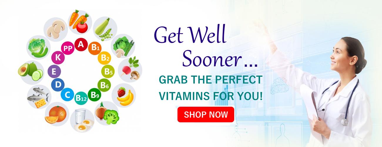 Slider - get well sooner vitamins at dr charles health products